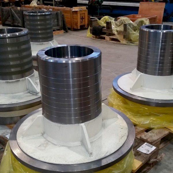 Laser cladding in marine industry
