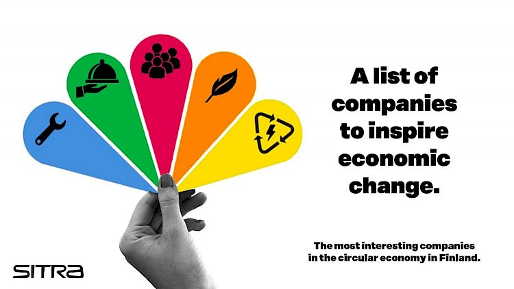 Kokkola LCC oy has been selected to appear on SITRA's list most interesting companies in the circular economy