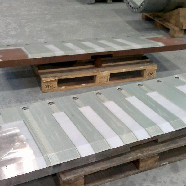 Laser cladding in steel industry